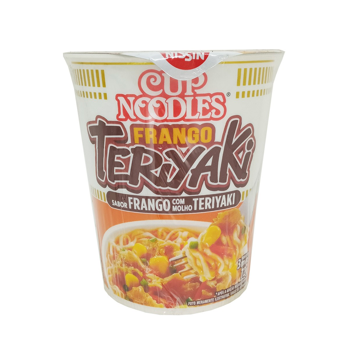 Cup Noodles Sabor Frango Teriyaki 72g - NISSIN