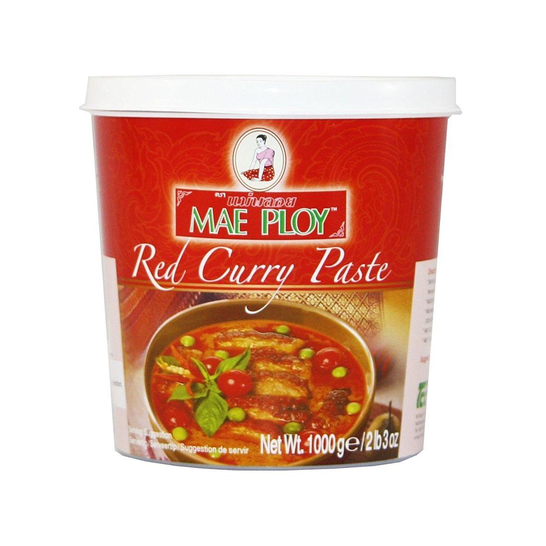 Curry Vermelho Tailandes MAE PLOY 400g