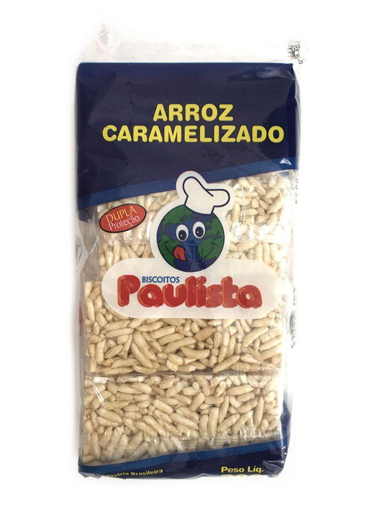 Doce de Arroz Caramelizado Okoshi 200g - Paulista