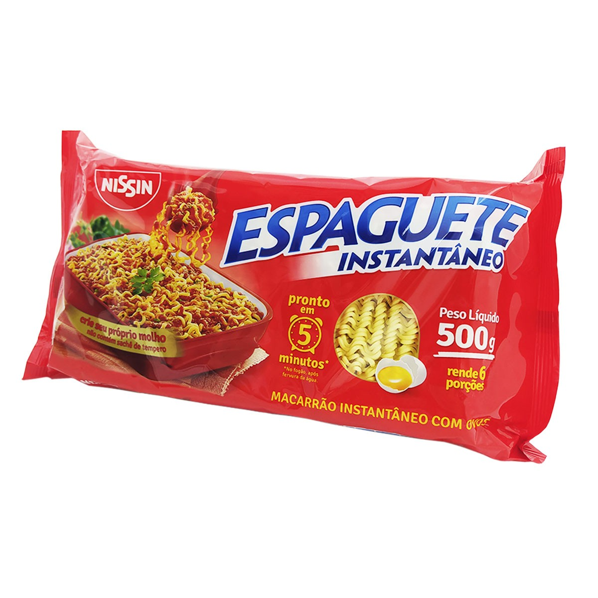 Espaguete Instantâneo 500g - Nissin