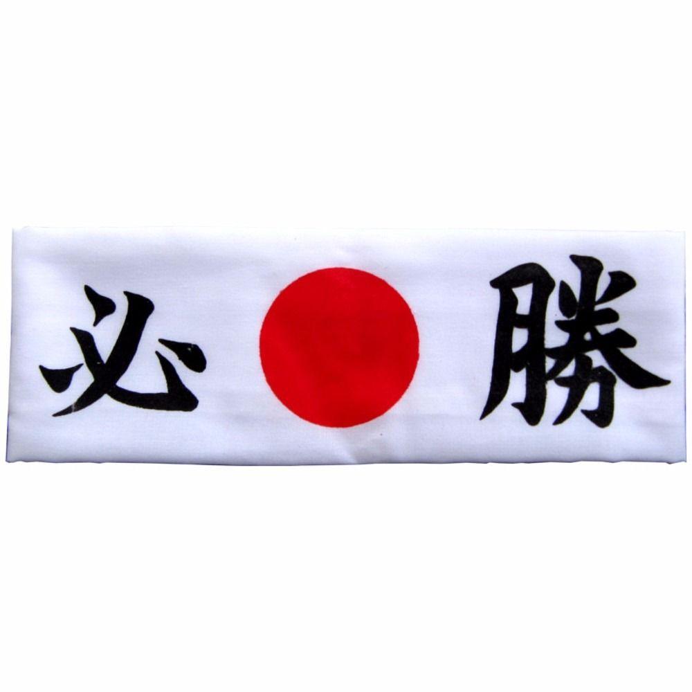 Faixa Hachimaki Para Sushiman Branca - VITÓRIA