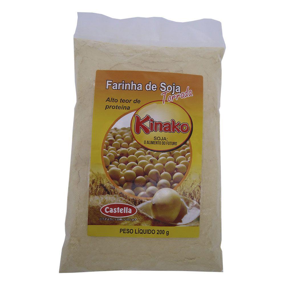 Farinha de Soja Torrada Kinako 200g Castella