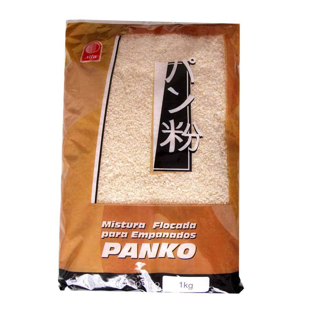 Farinha para empanar Panko Alfa 1Kg