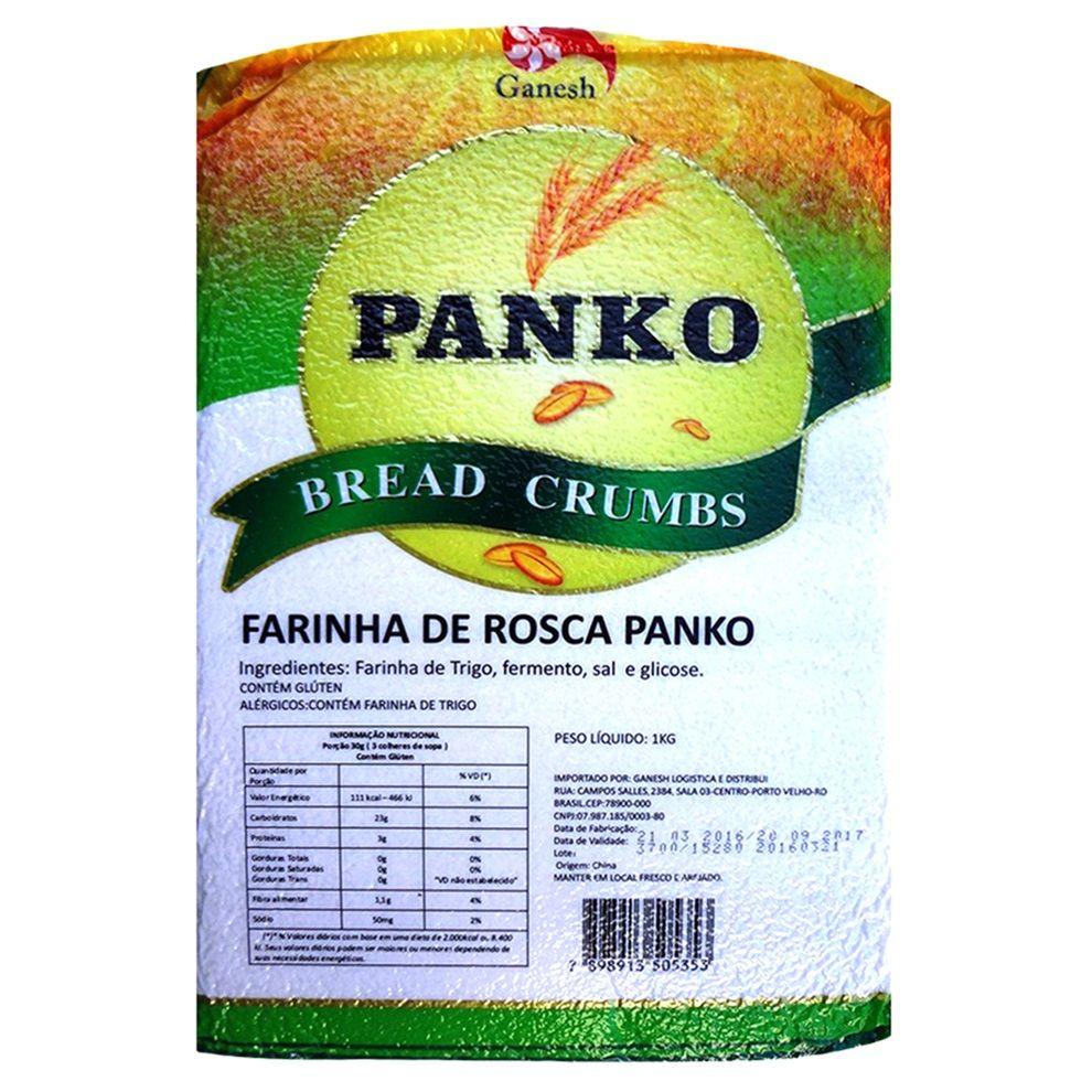 Farinha para Empanar Panko Importado  - 1kg