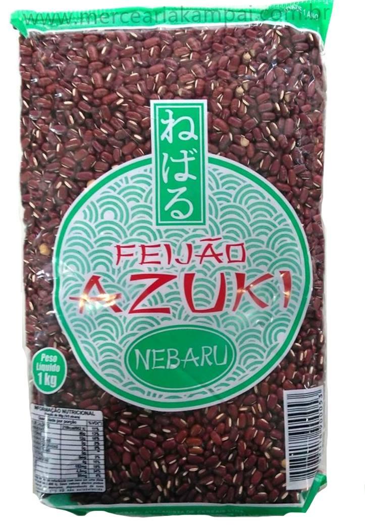 Feijão japonês Azuki - Nebaru/Casa Forte  1kg