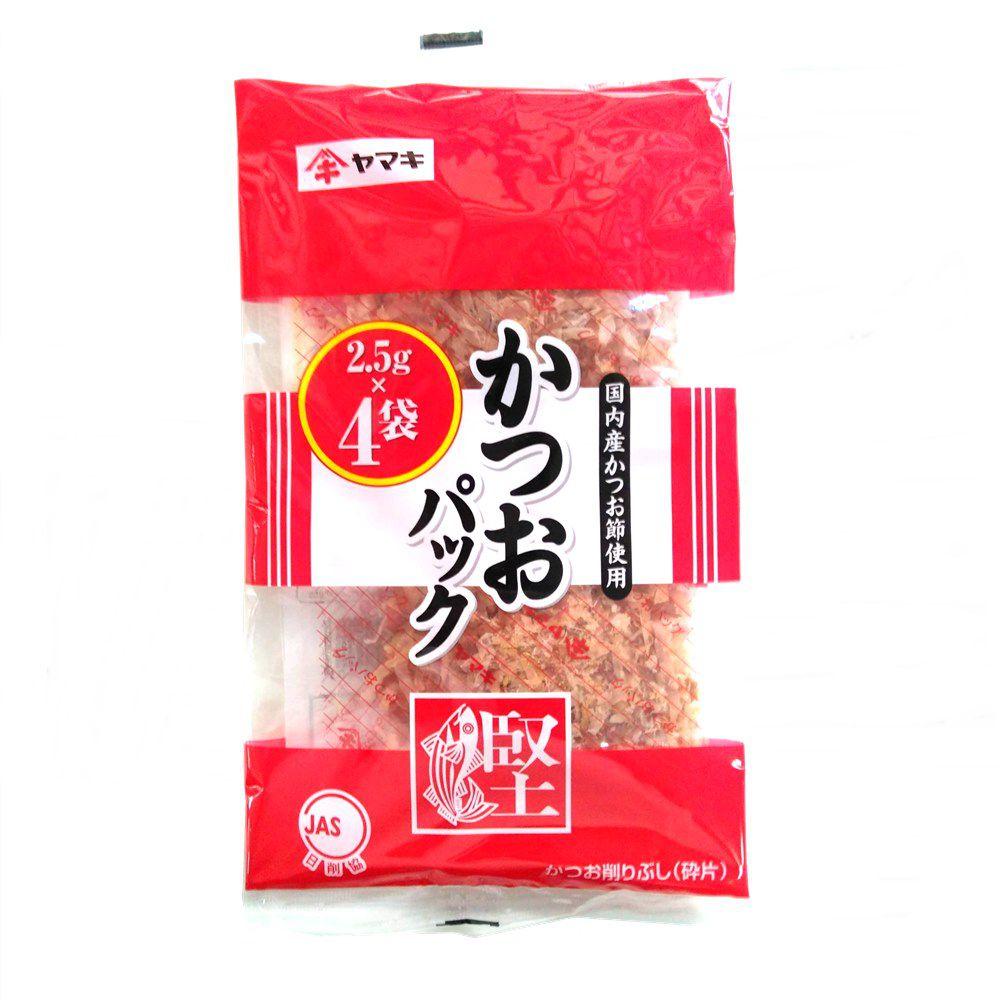 Flocos de Peixe Bonito Katsuobushi 4 sachês 10g - Yamaki