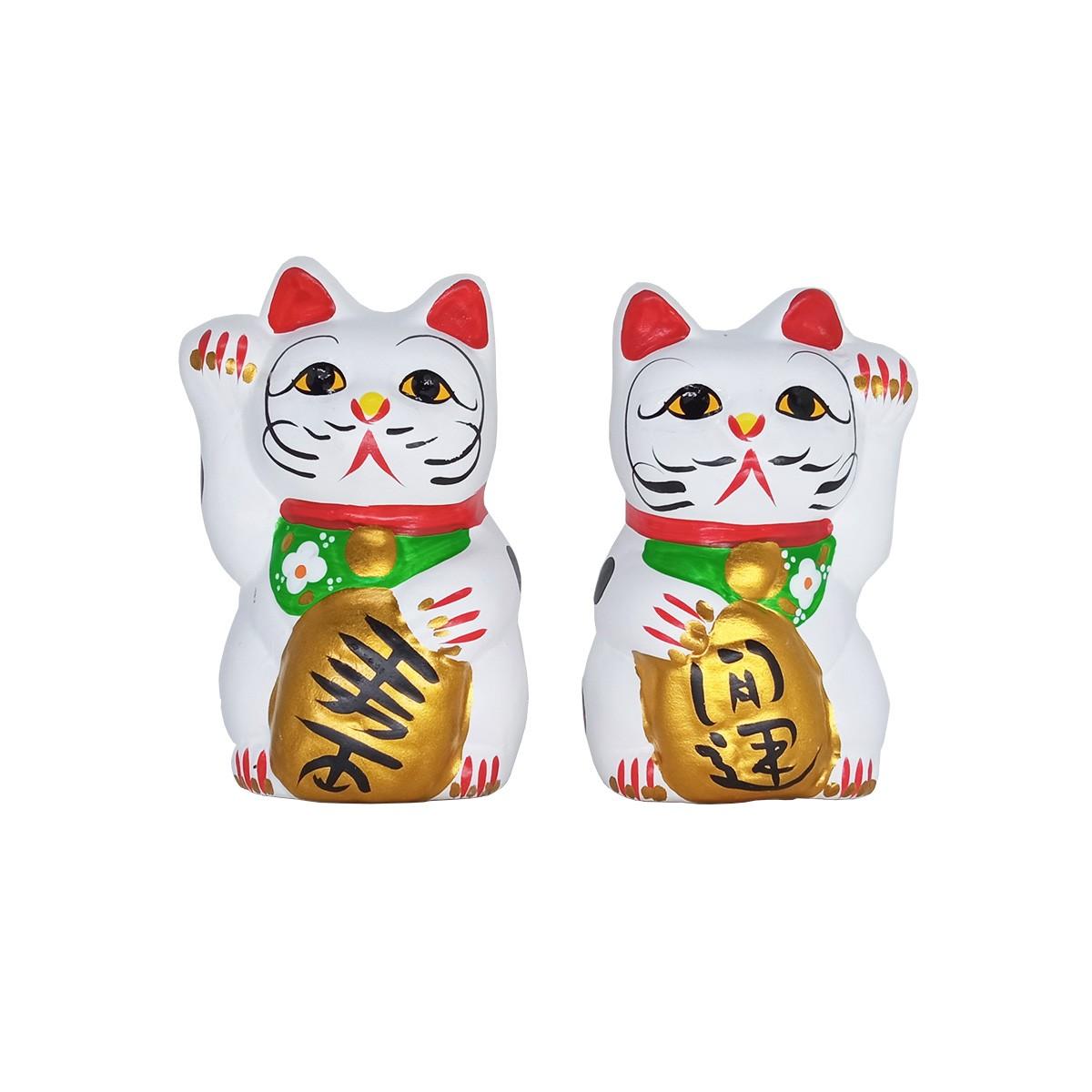 Gato Da Sorte Japones Maneki Neko Tam. G - Impor C10