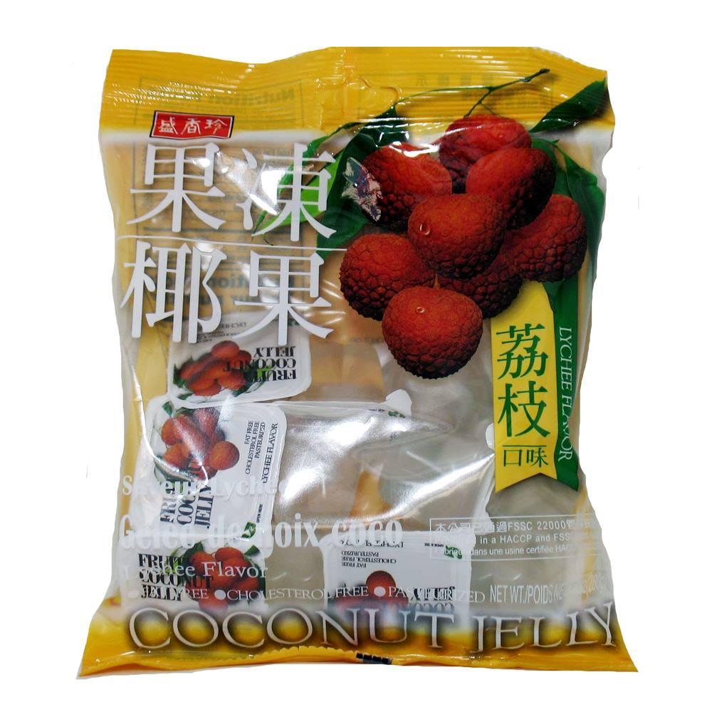 Gelatina de Lichia com Coco 280g - Triko