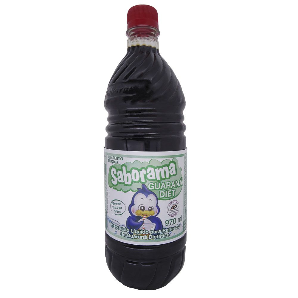 Guaraná  Diet Saborama 970ml