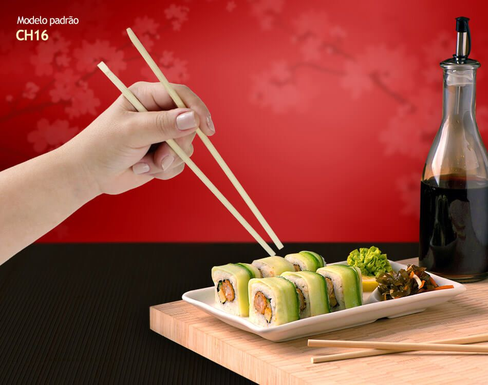 Hashi de Bambu GW 50 pares