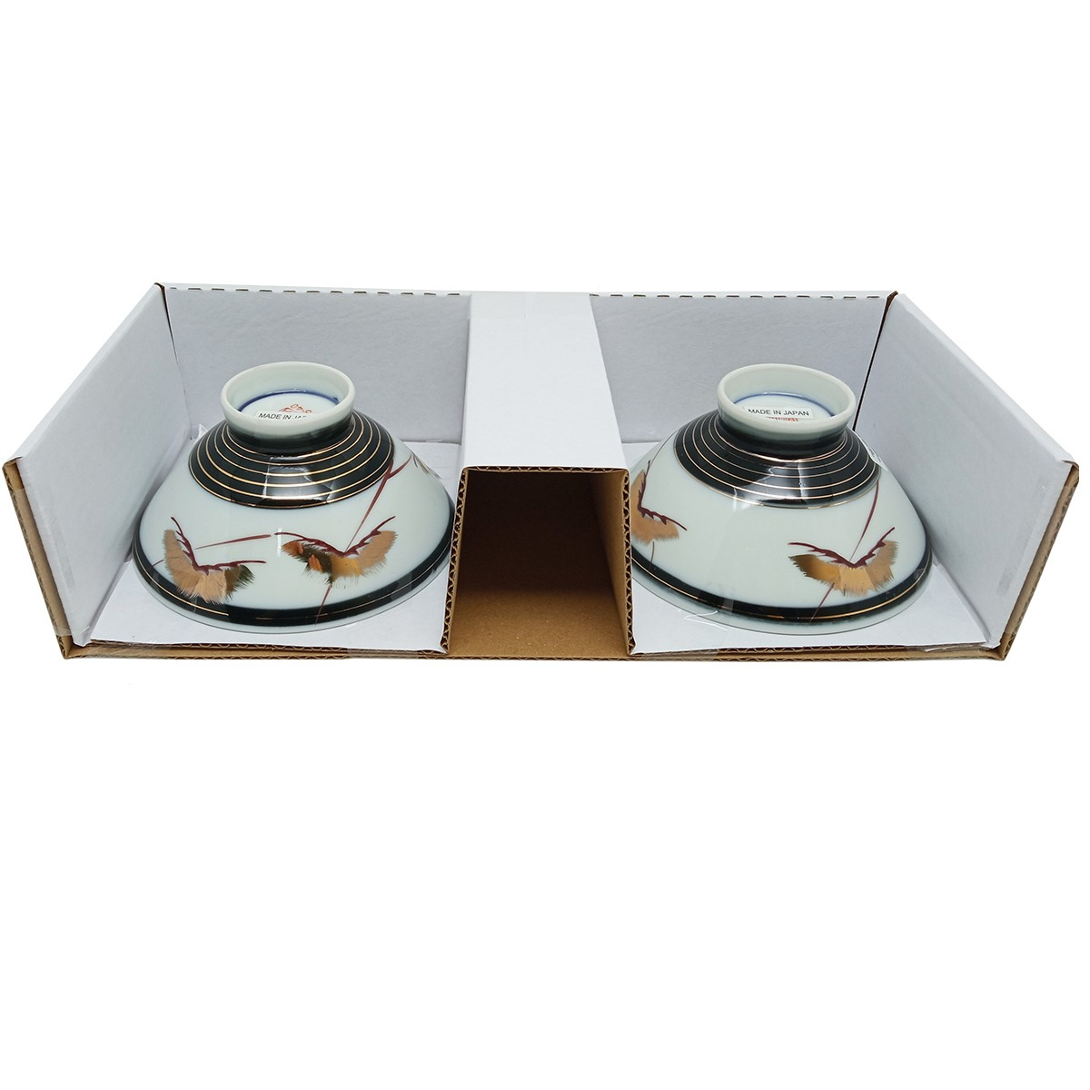 Jogo de Tigelas de Cerâmica Japonesas M/M