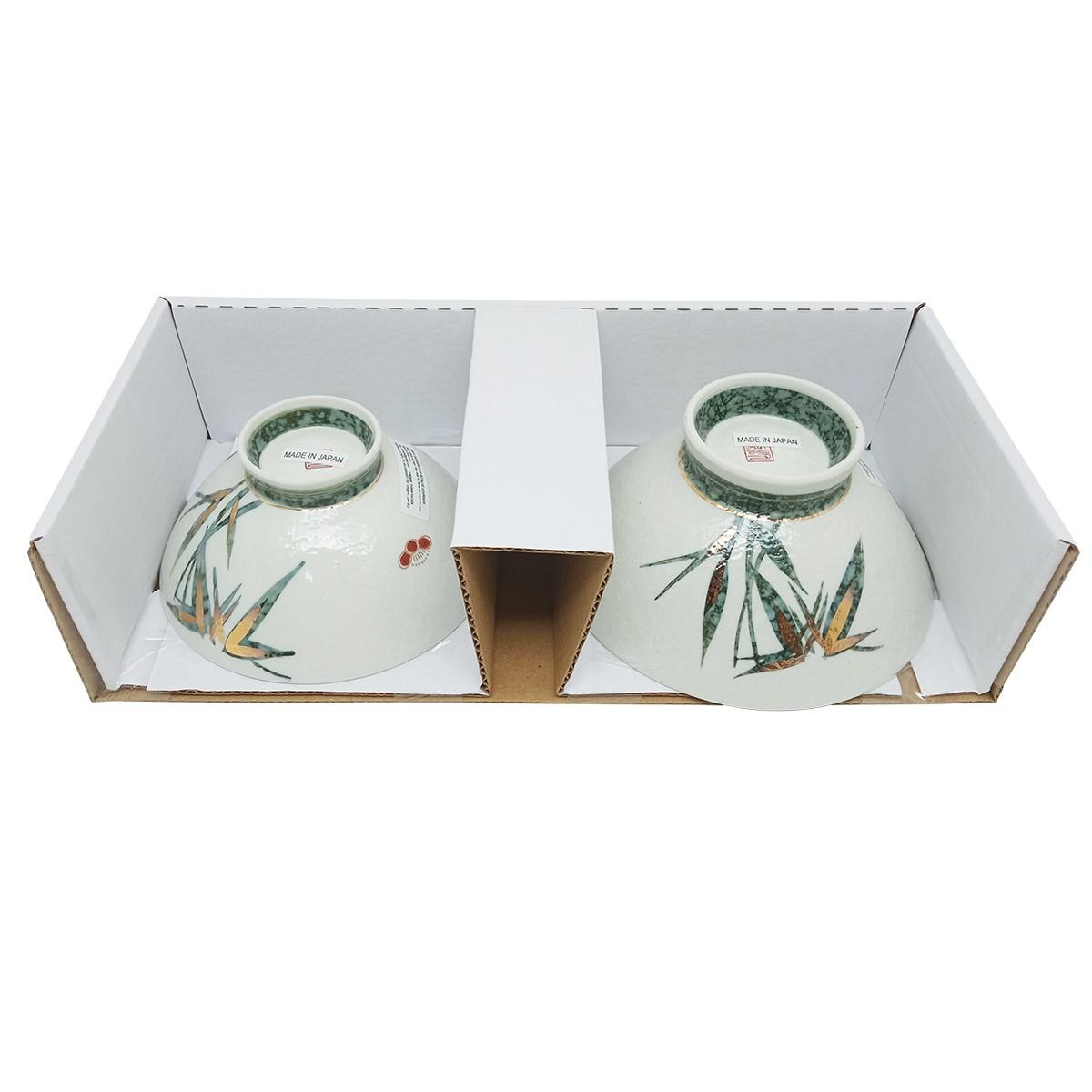 Jogo de Tigelas de Cerâmica Japonesas Tamanho M/G