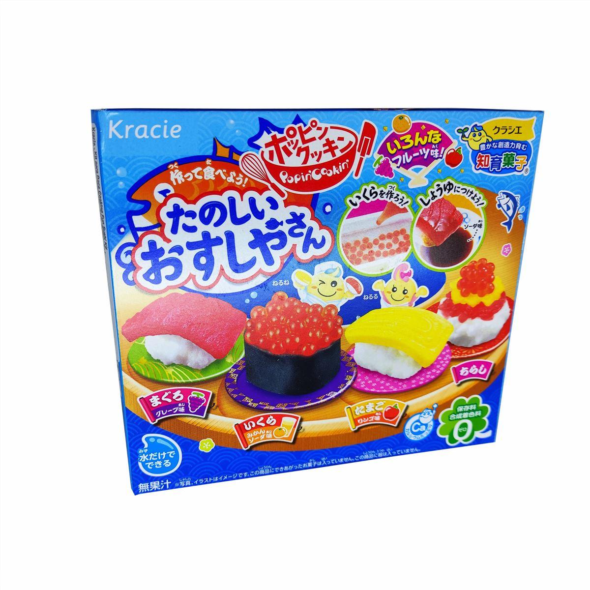 Kit p/ Doce Japonês Happy Cooking Fun Sushi 28,5g - Kracie