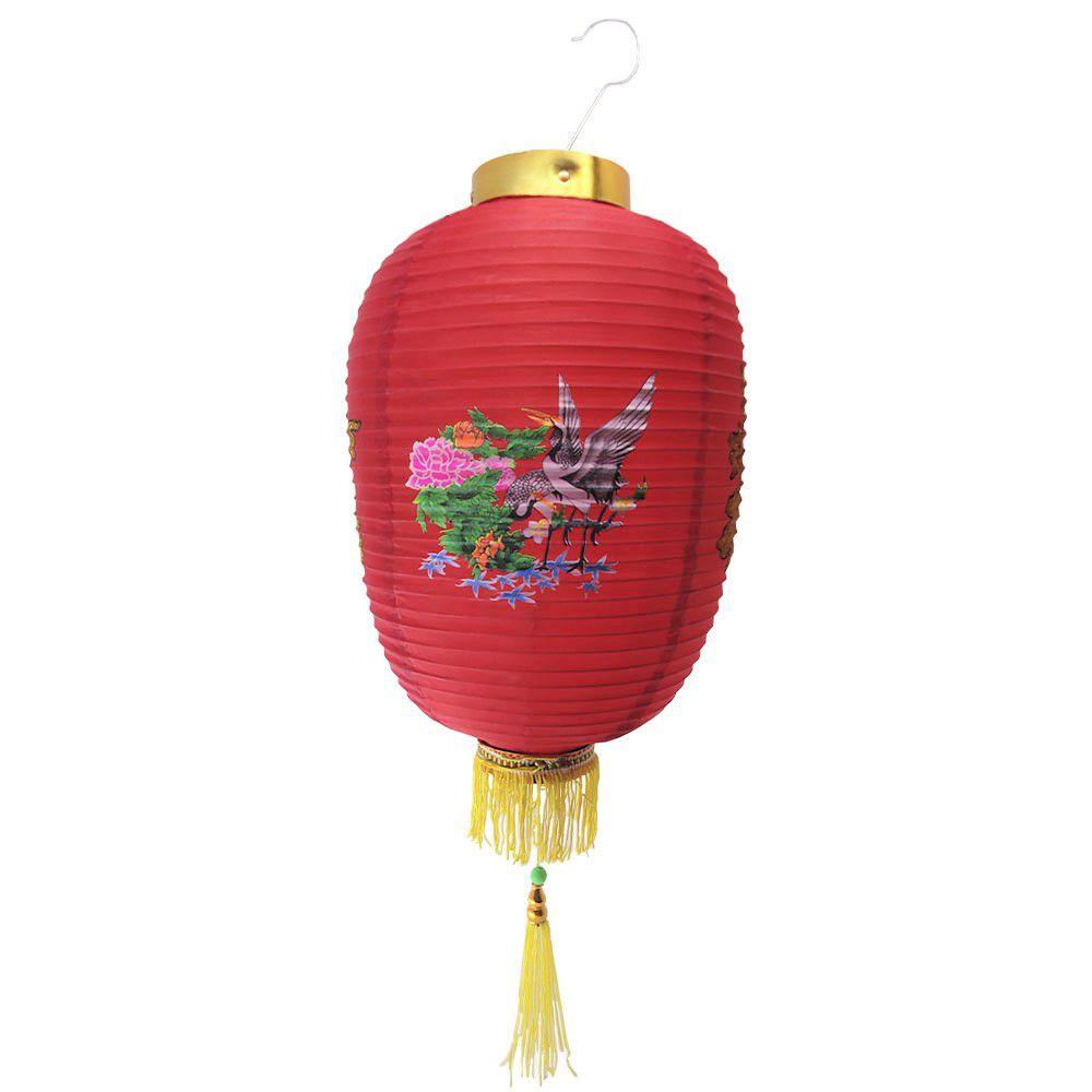 Lanterna Decorativa Tyotin Cegonha 55cm - Grande