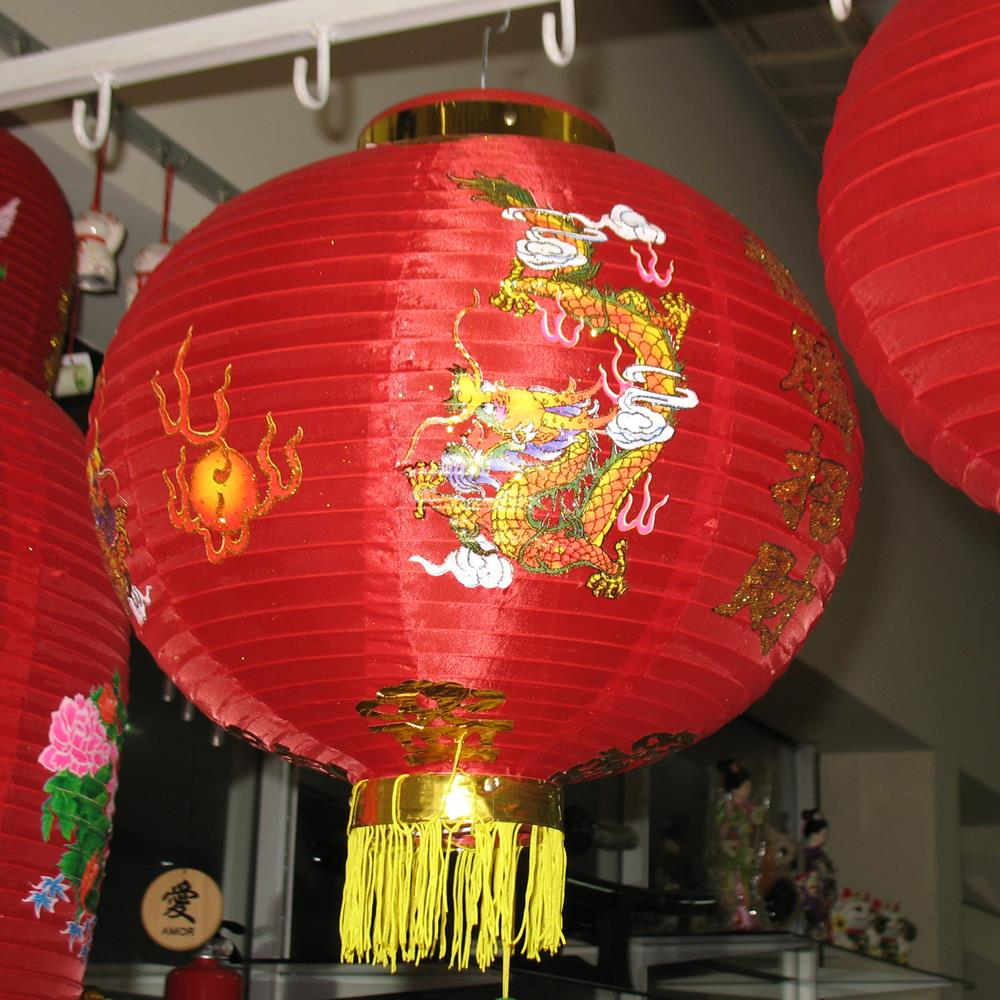Lanterna Decorativo Tyotin 35cm - Dragão