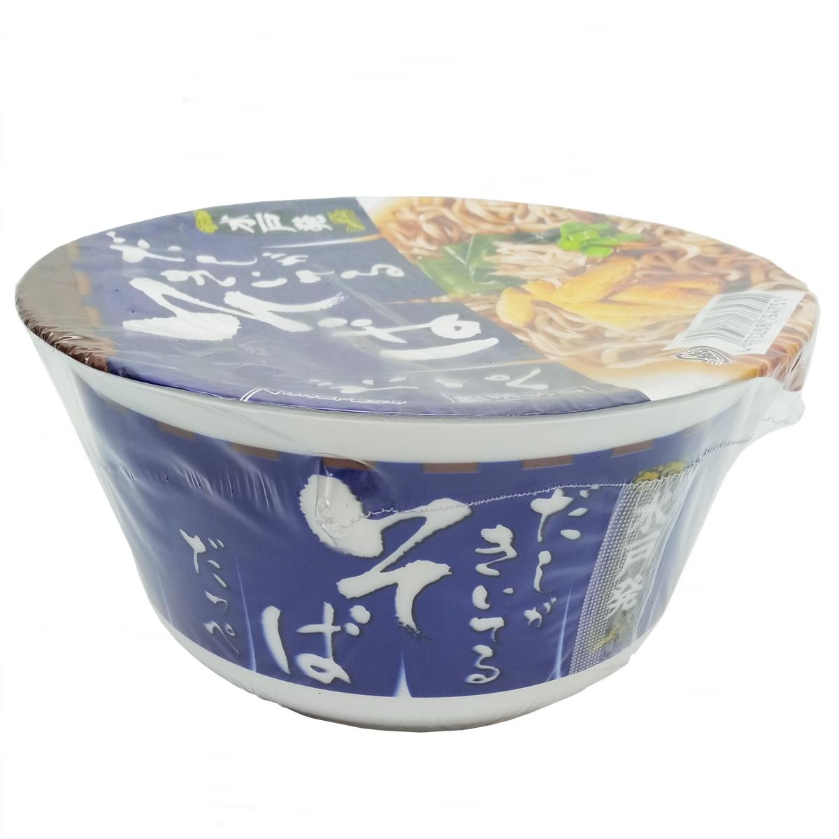 Macarrão Dashi Soba Cup Noodles 80g - Sunaoshi