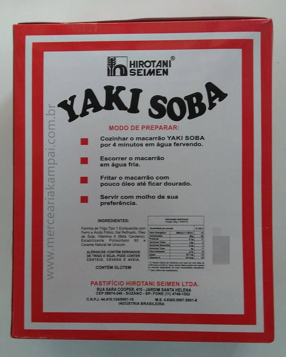 Macarrão para yakissoba Hirotani 1kg