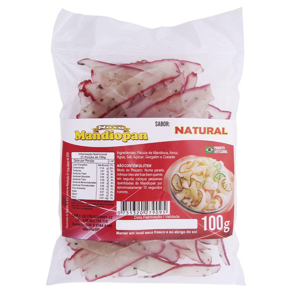 Mandiopan sabor Natural 100g
