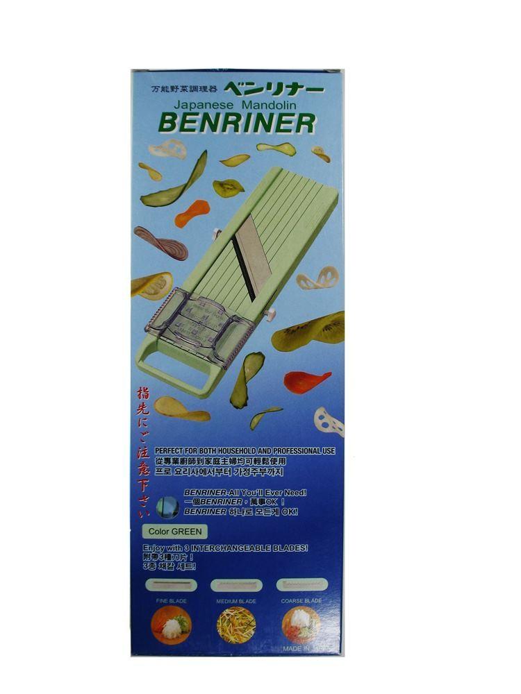 Mandolin Benriner  - Cortador, Fatiador e Ralador de Legumes