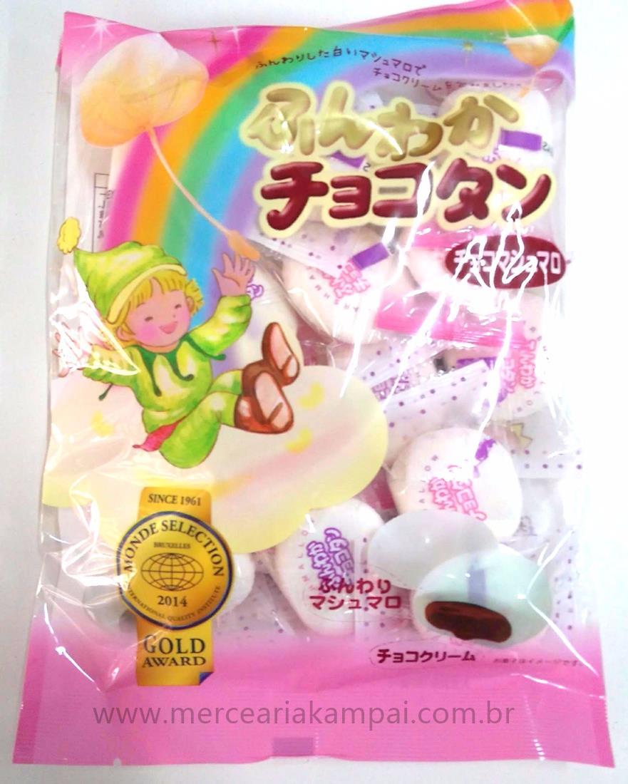Marshmallow Receado com Chocolate 90g - Tenkei