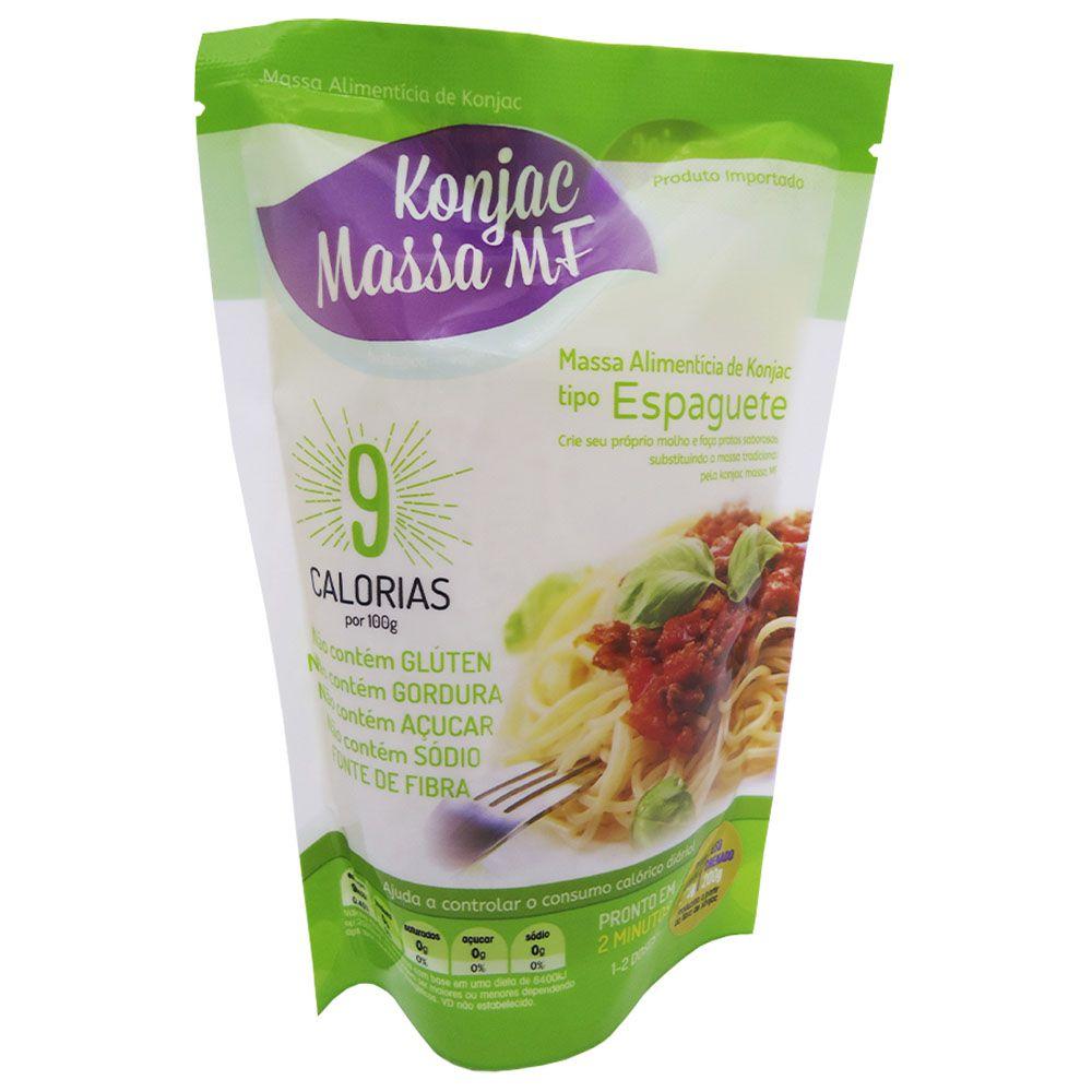 Massa Alimentícia de Konjac tipo Espaguete 270g - Konjac Massa MF