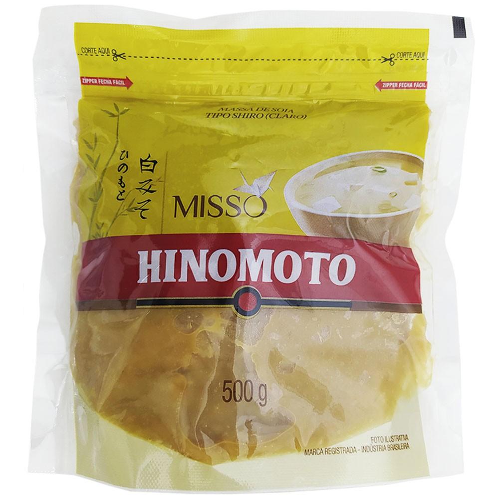 Massa de Soja Misso Tipo Shiro Claro 500g Hinomoto