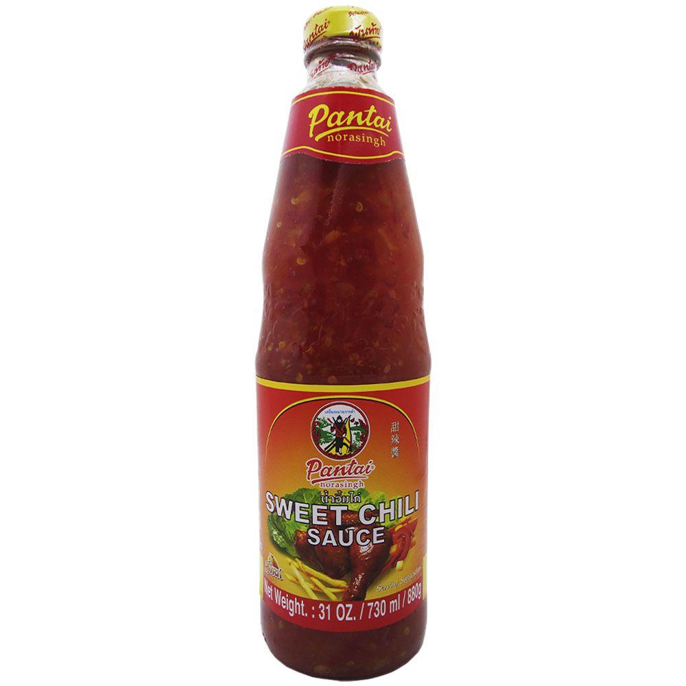 Molho Apimentado p/ frango Sweet Chili Sauce 880g Pantai