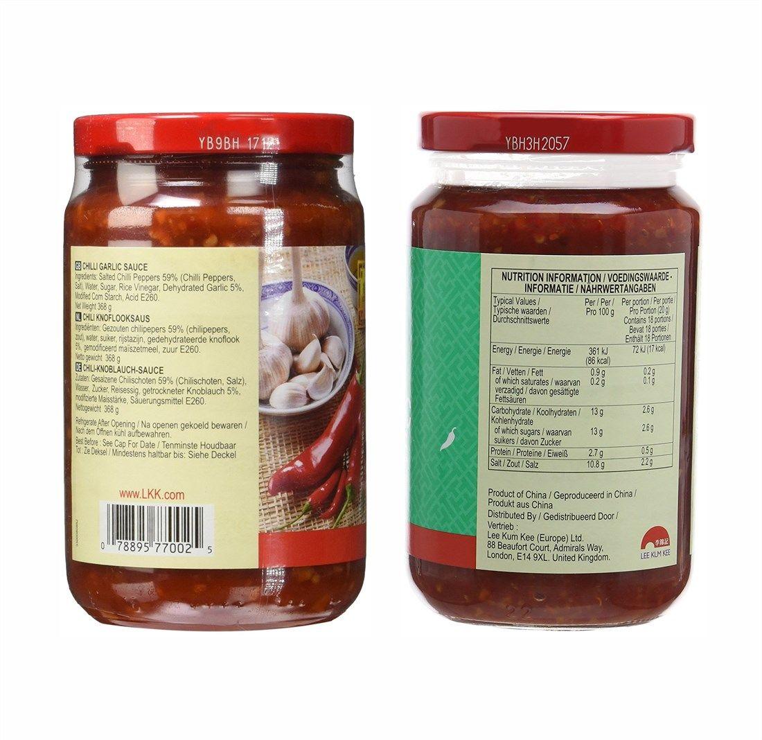 Molho de Pimenta e Alho Chili Garlic Sauce 368gr
