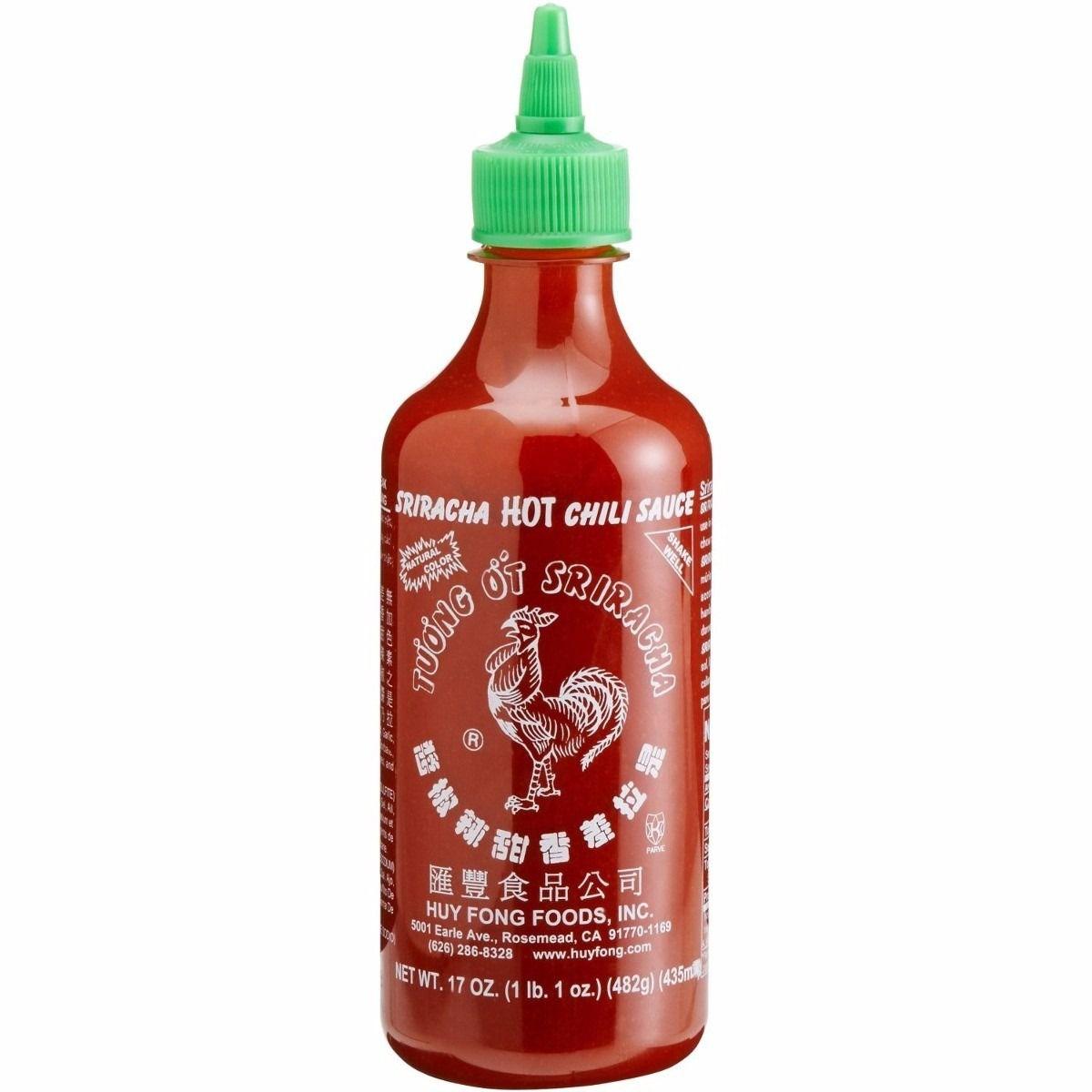 Molho de Pimenta Sriracha 482g