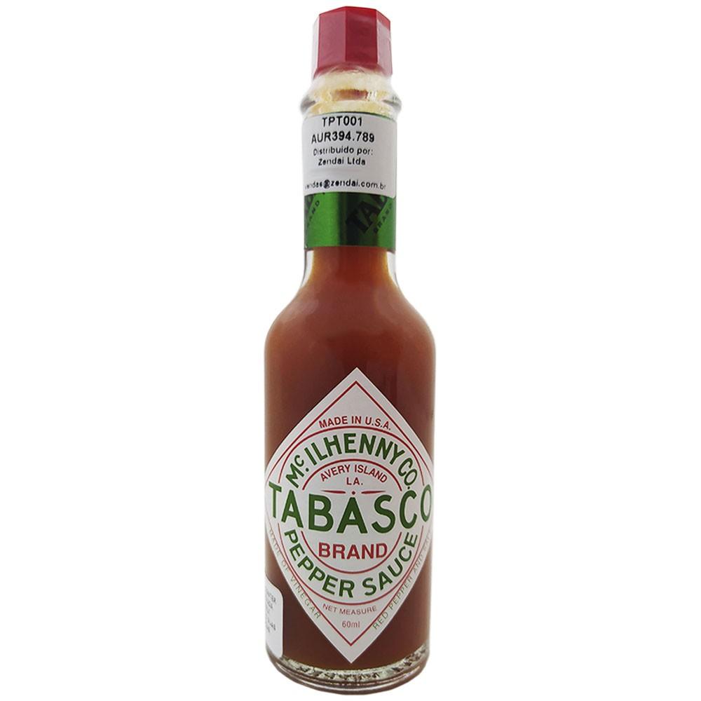 Molho de Pimenta Vermelha ORIGINAL 60ml Tabasco