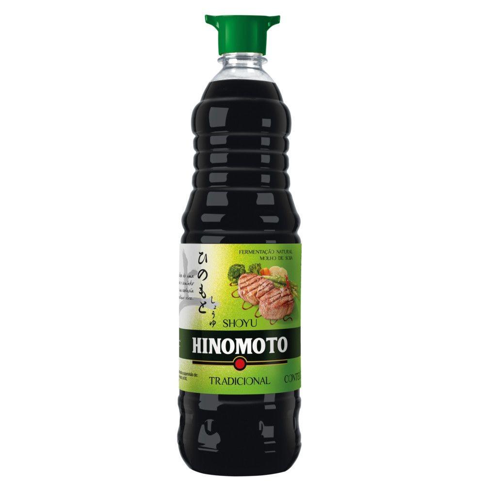 Molho de Soja Acentuado Tradicional 1Litro - Hinomoto