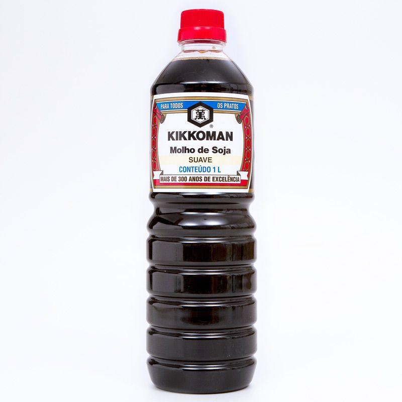 Molho de Soja Kikkoman Suave 1 Litro