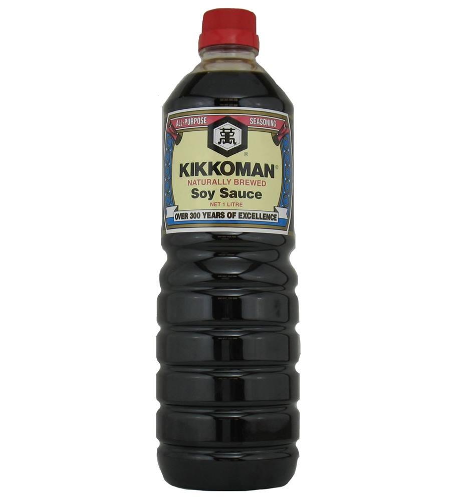 Molho de Soja Kikkoman Tradicional 1 Litro