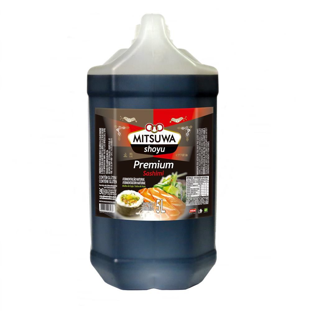 Molho de Soja Premium Galão 5 Litros - Mitsuwa