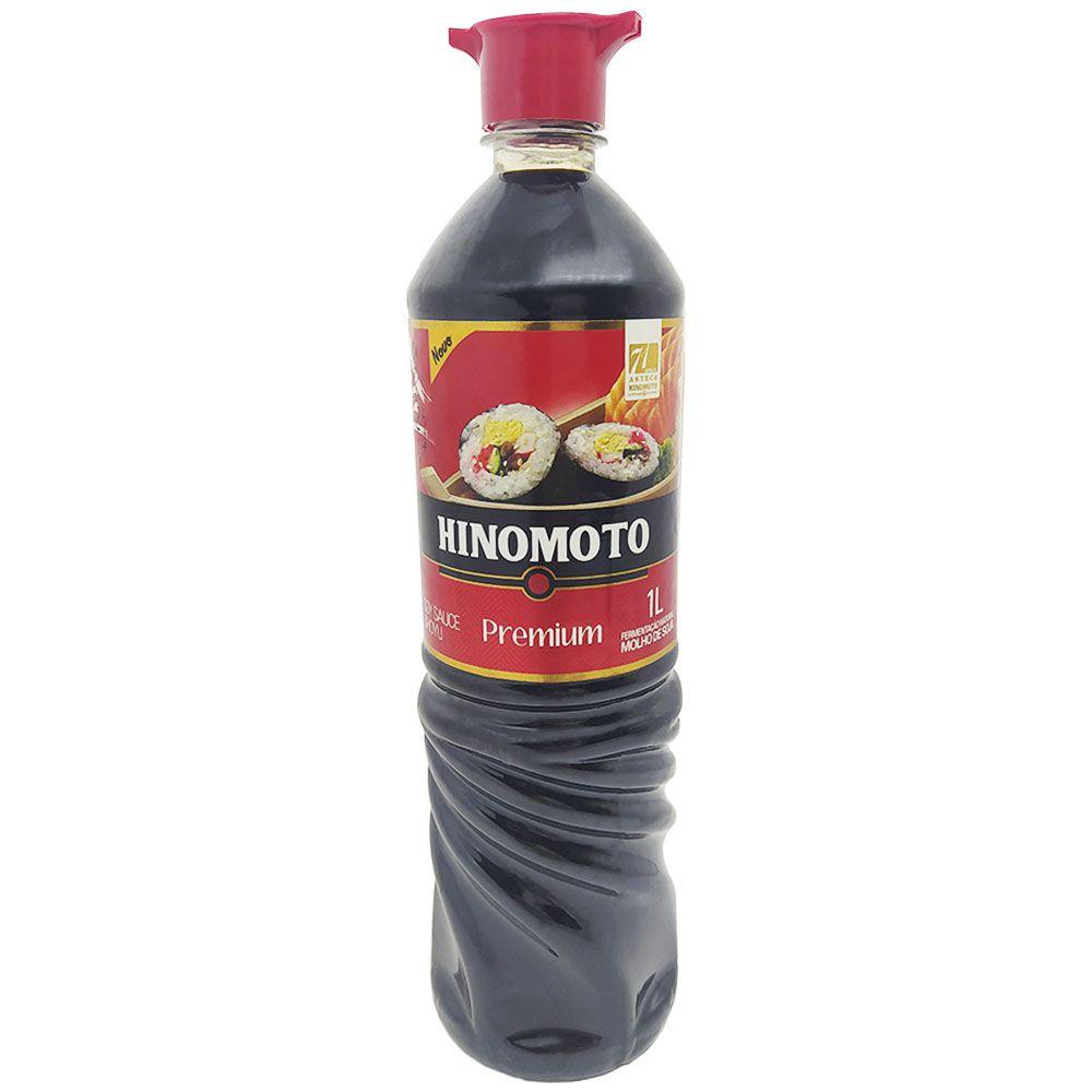Molho de Soja Premium 1L Hinomoto