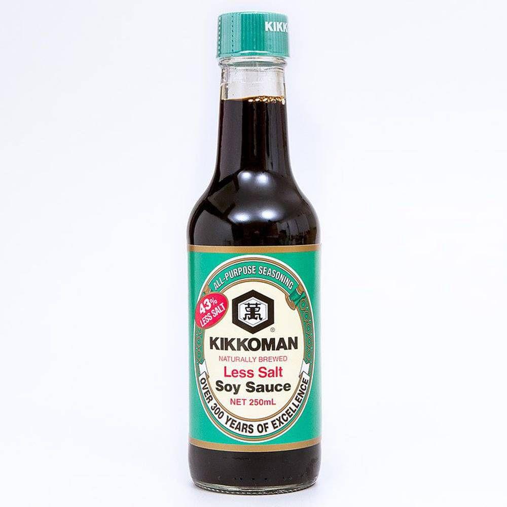Molho de Soja Shoyu Less Salt 250ml - Kikkoman