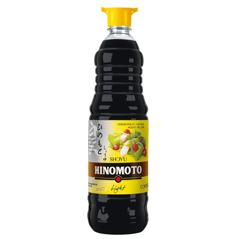 Molho de Soja Suave Light 1 Litro - Hinomoto