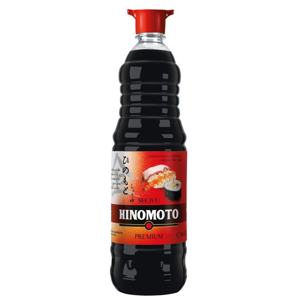 Molho de Soja Suave Premium 1 Litro - Hinomoto