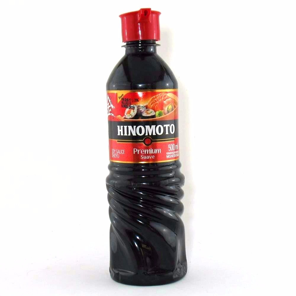 Molho de Soja Suave Premium 500ml - Hinomoto