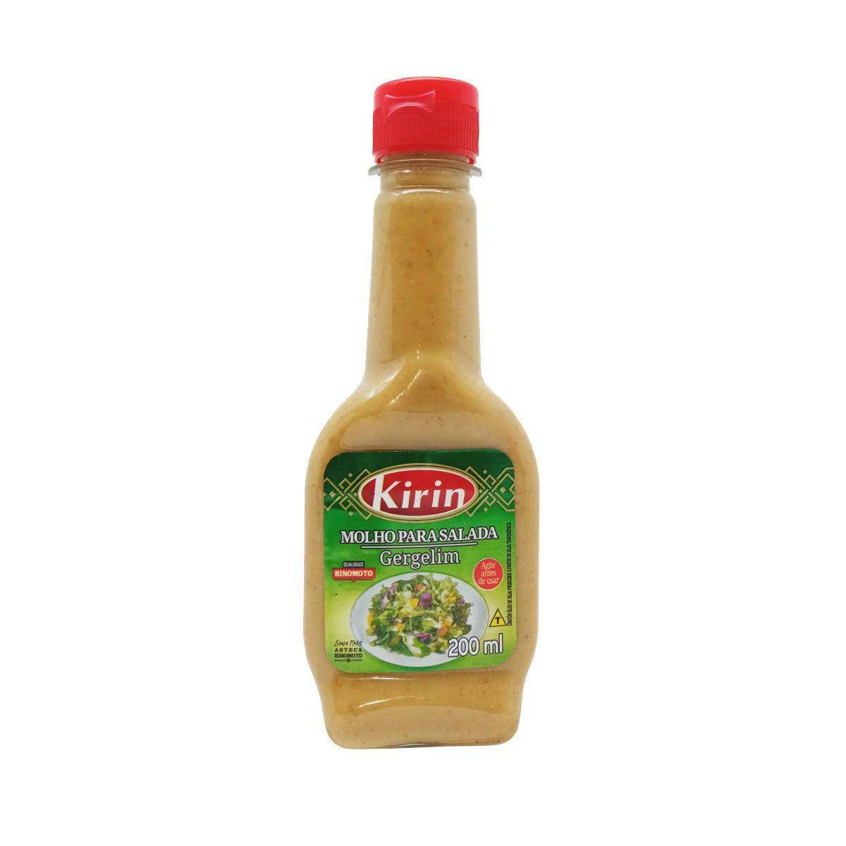 Molho Gergelim para Salada 200mL - Kirin