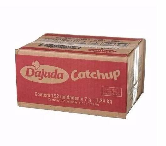 Molho Ketchup Dajuda Sachê 192 unid
