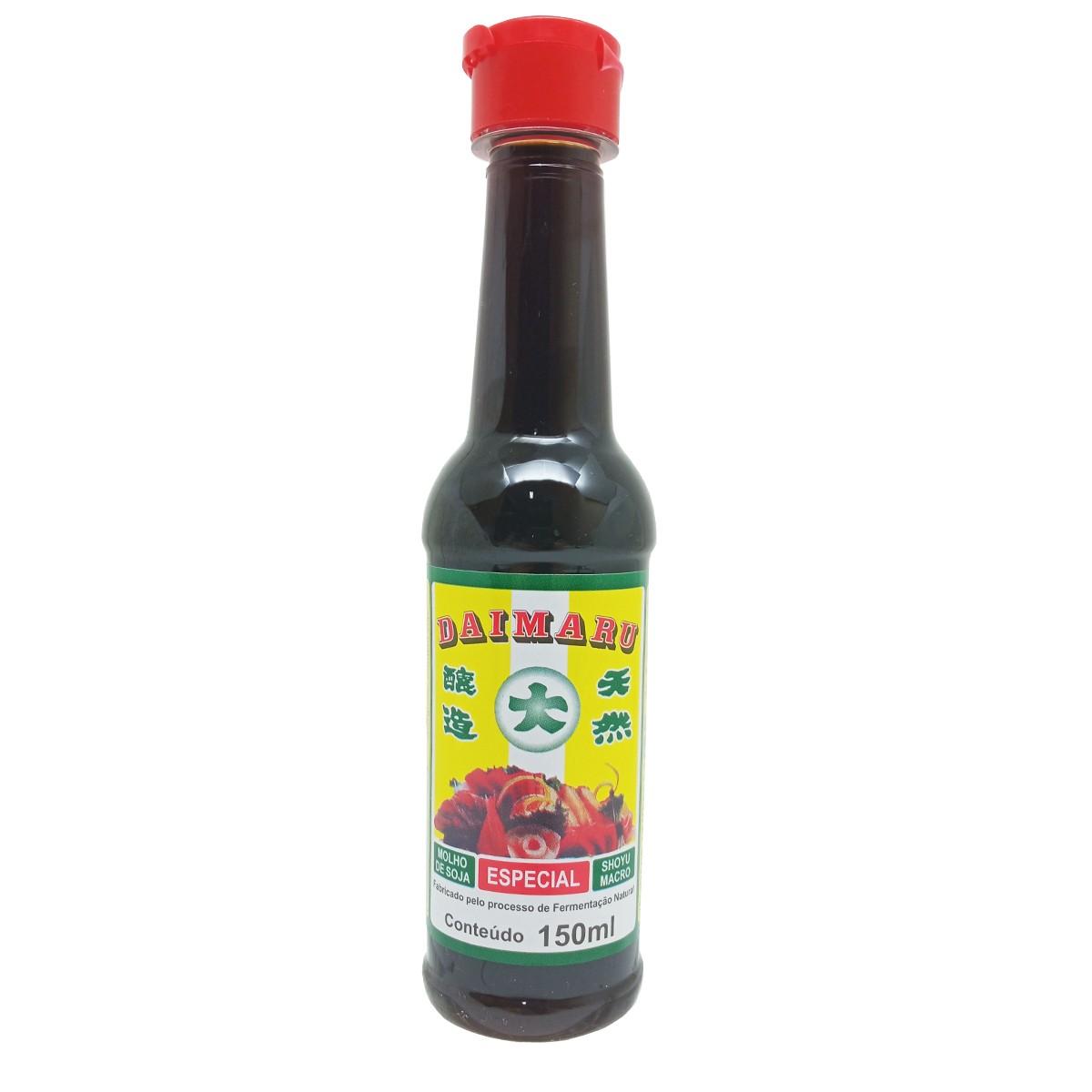 Molho Shoyu Natural Especial Macrobiótico Daimaru 150ml