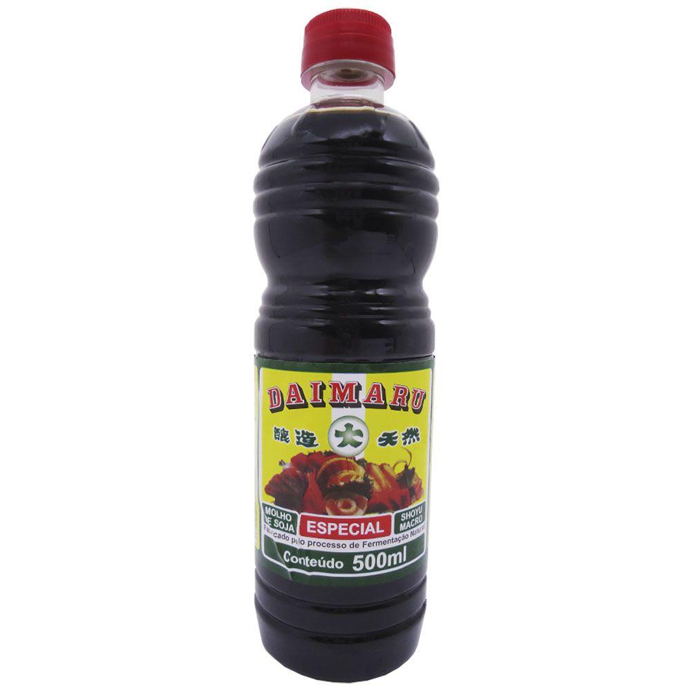 Molho Shoyu Natural Especial Macrobiótico Daimaru  500ml