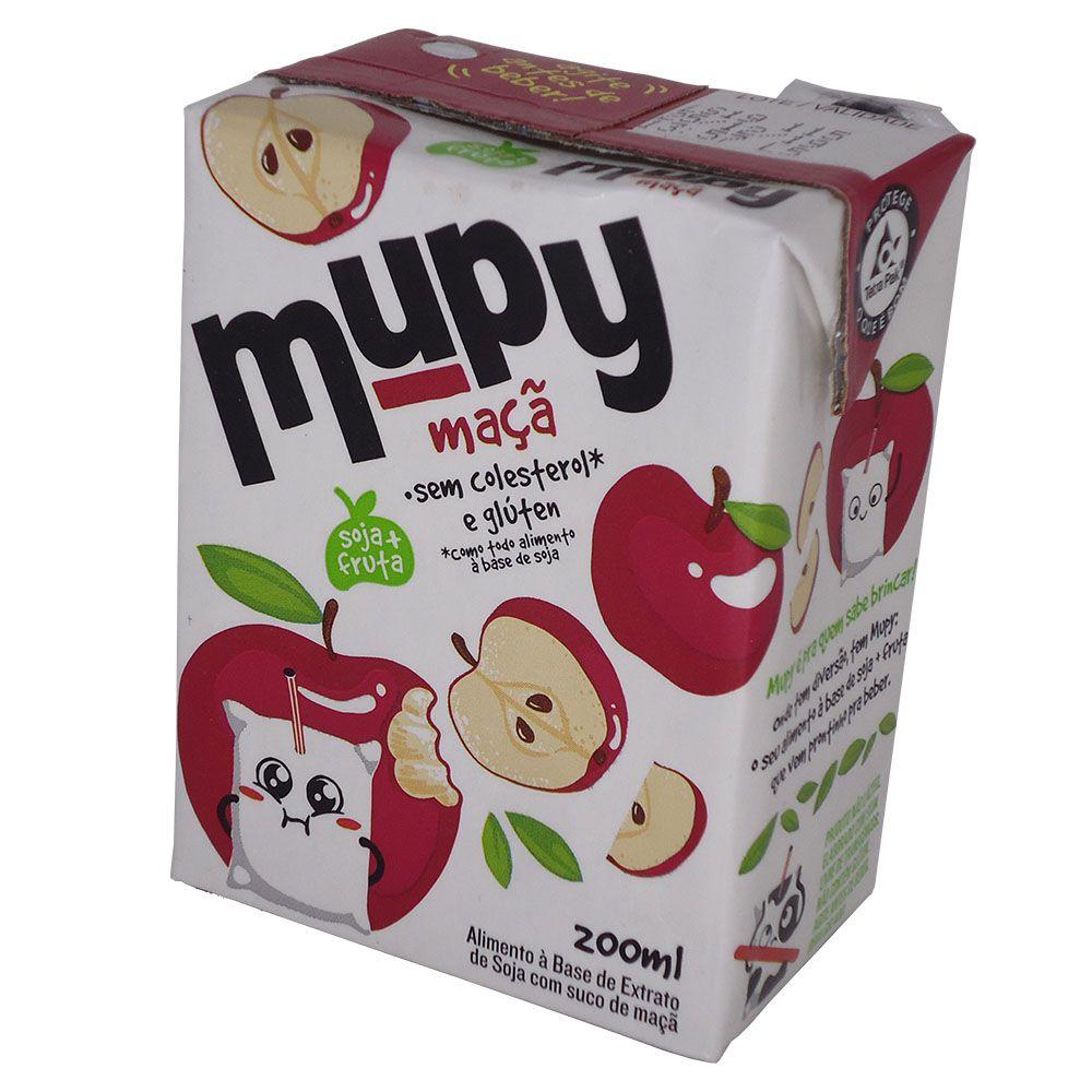 Mupy Bebida à Base de Leite de Soja 200ml - Sabor Maçã