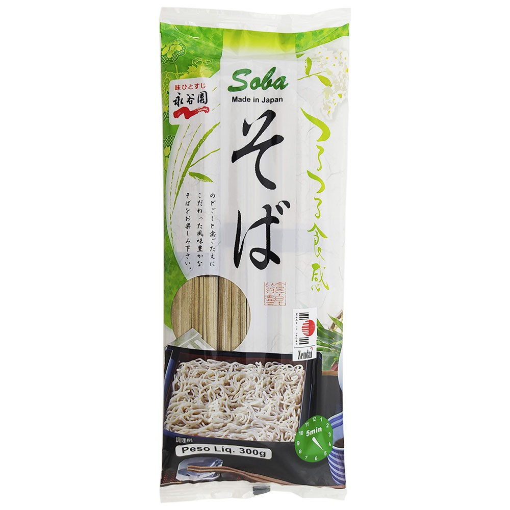 Macarrão Soba Japonês 300g - Nagatanien