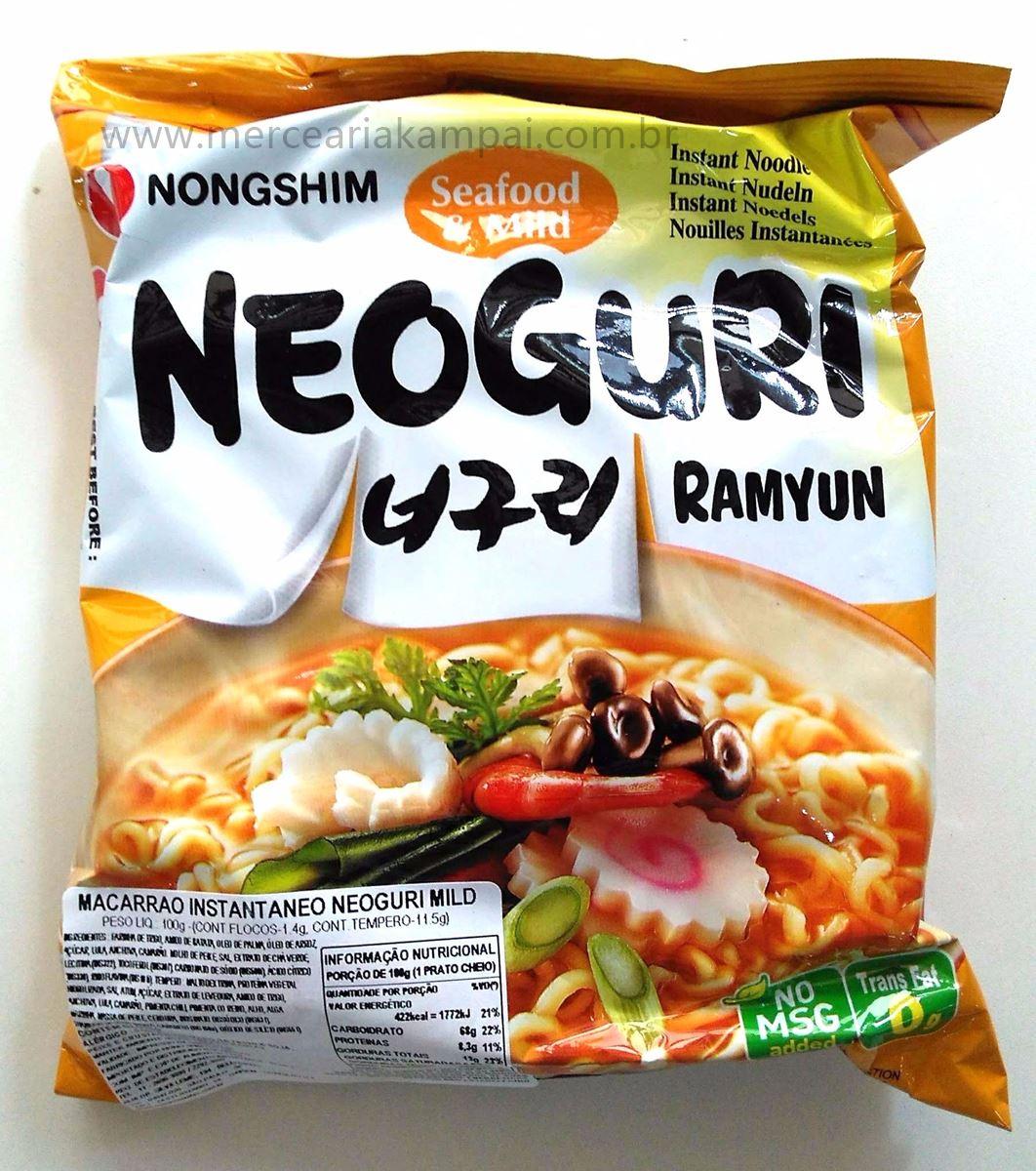 Macarrão Instantâneo Neoguri 100g -Nong Shin