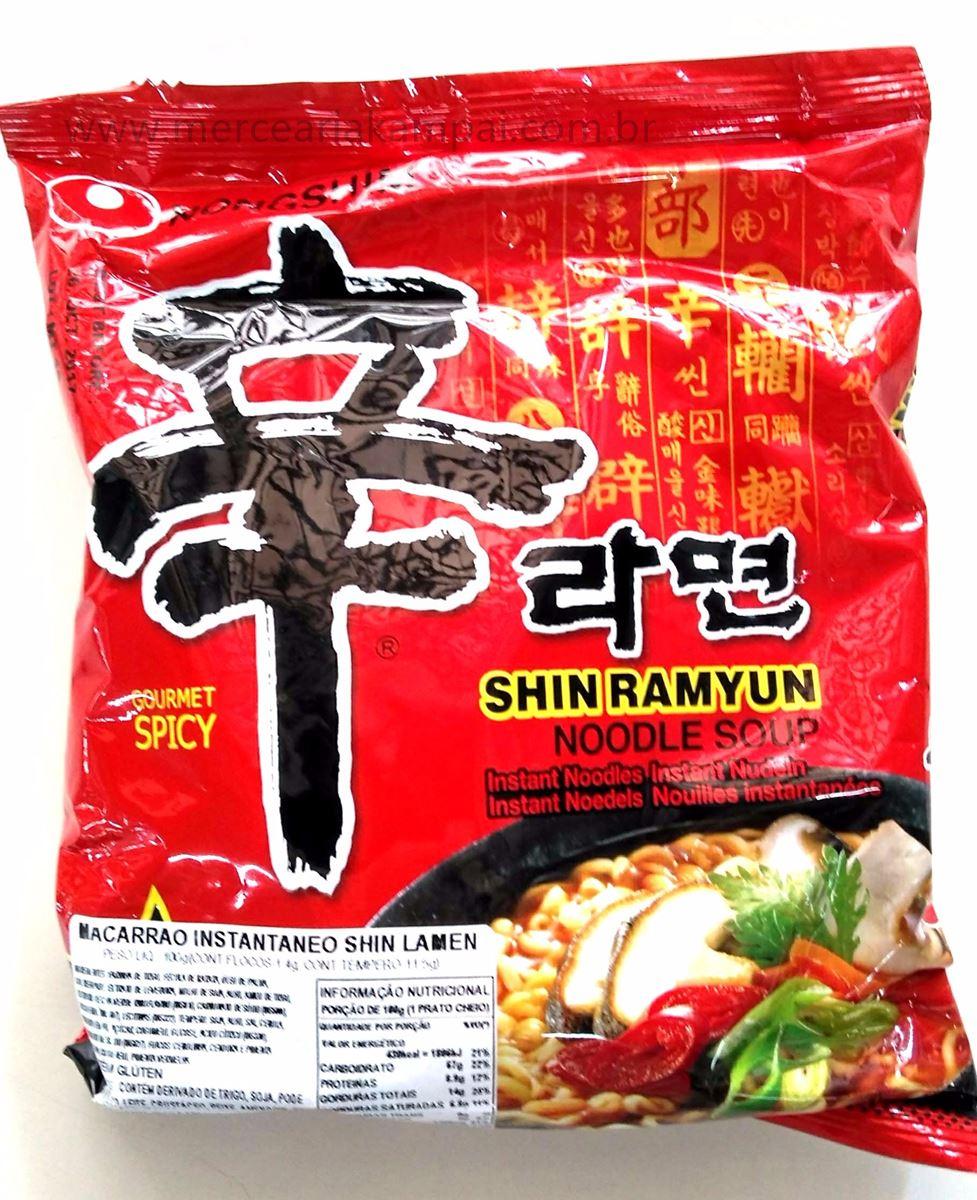 Macarrão Instantâneo Shin Ramyun 100gr - Nong Shin