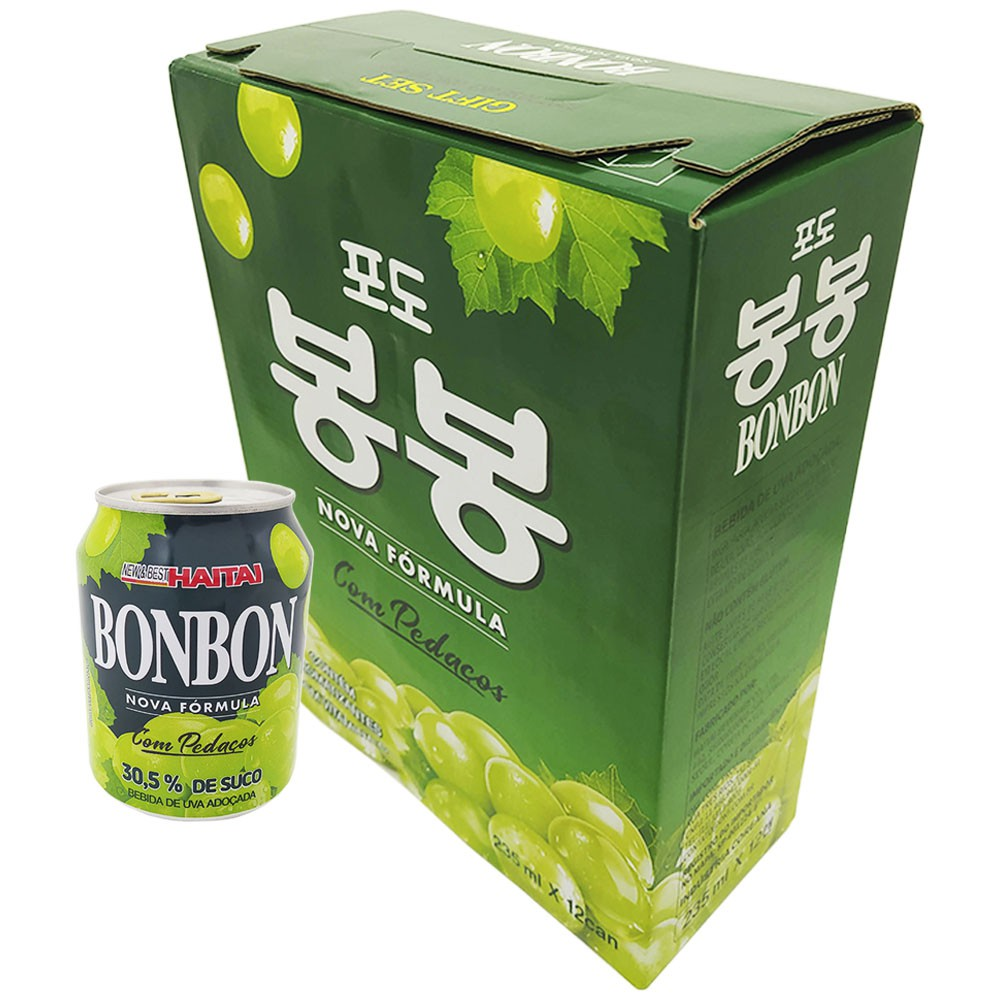 Suco de Uva com Polpa Caixa 235ml X 12ud - Bonbon