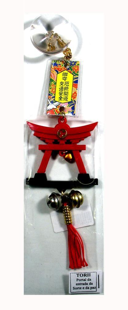 Enfeite de Proteção Omamori Portal - Torii