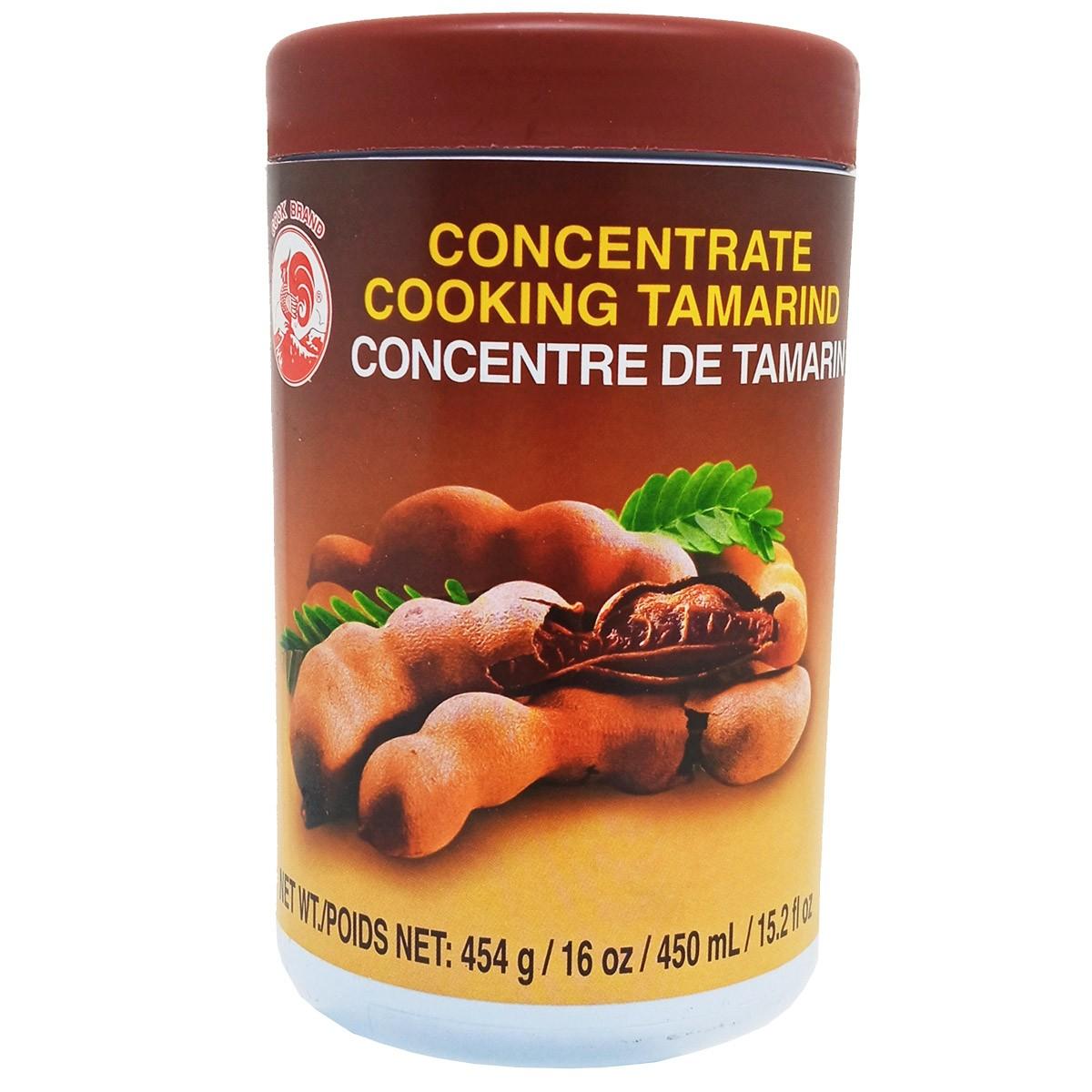 Pasta Concentrada de Tamarindo 454g 450mL - Cock Brand